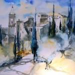 village de toscane     30x40