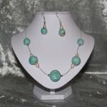 Parure en perles céramique      25€