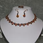 Parure en perle de swarovski trés fine    32€