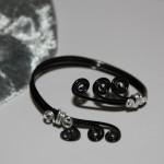 Bracelet en fil aluminium